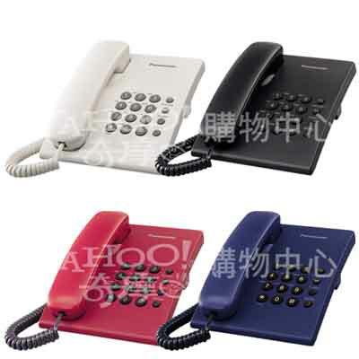 【純米小舖】Panasonic 國際牌 經典有線電話 KX-TS500(黑色)