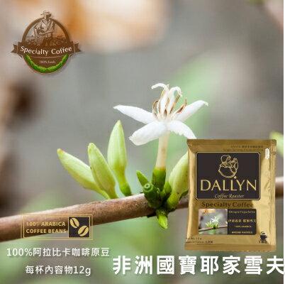 【DALLYN 】伊索匹亞 耶加雪夫濾掛咖啡100入袋 Ethiopia Yirgachefee | DALLYN世界嚴選莊園 1