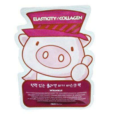 韓國NEXT BEAU豬豬面膜-Q彈 K716
