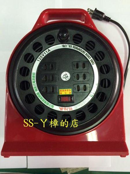 東乾 可拉長 工業用 電纜輪座 延長線 TC-11R (80尺)-24.2M(含稅價)