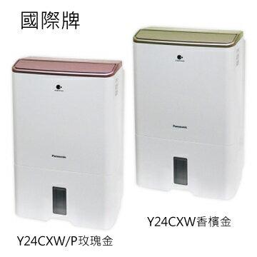 【預購商品】Panasonic國際牌 12公升 nanoe空氣清淨除濕機F-Y24CXWP 免運 0利率 公司貨