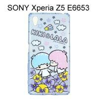 小熊維尼周邊商品推薦雙子星空壓氣墊軟殼 [花朵] SONY Xperia Z5 E6653【三麗鷗正版授權】