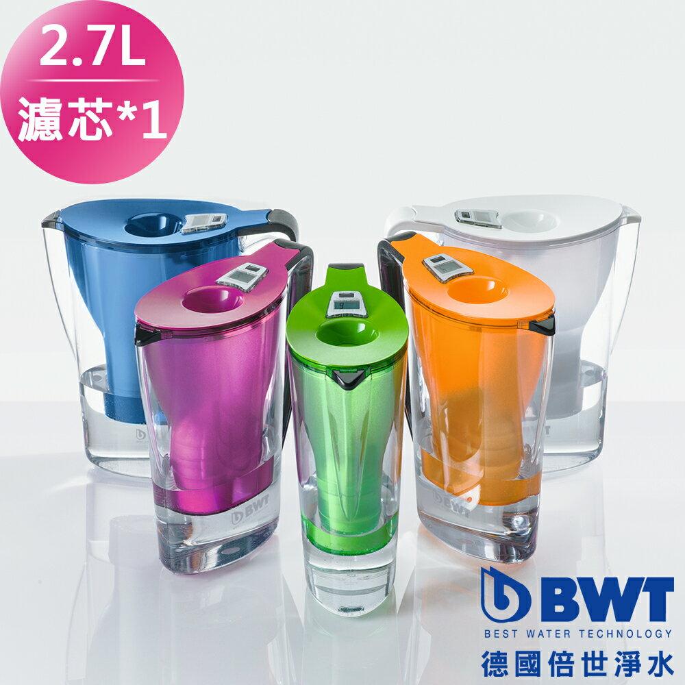 ~BWT德國倍世~Mg2 鎂離子健康濾水壺Penguin 2.7L^(1壺 1濾心^) 三