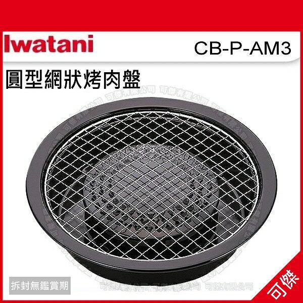 可傑 岩谷 Iwatani CB-P-AM3 圓形網狀烤肉盤  中秋烤肉  搶購商品!