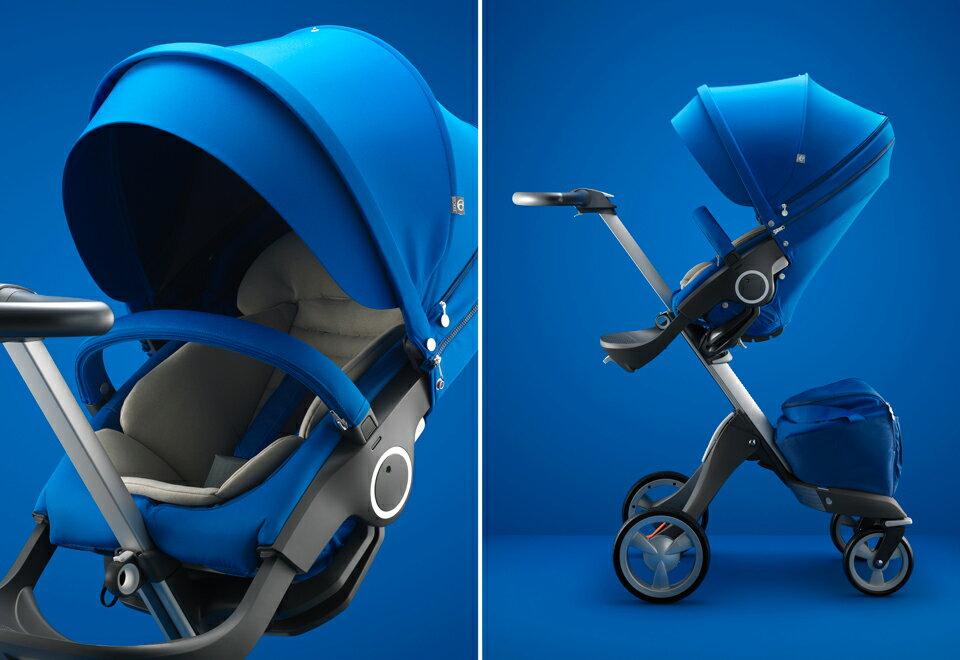 【全台限量】挪威【Stokke】Xplory 經典嬰兒車- 寶石藍 1