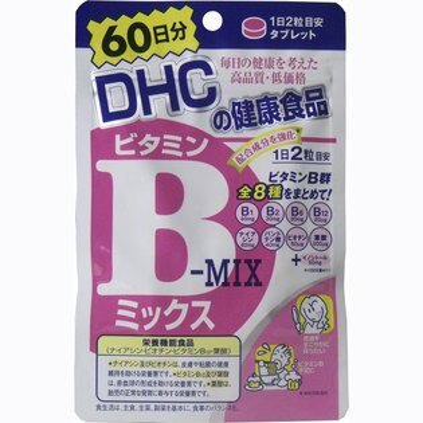 DHC 營養補給品 維他命B群 60日份(120粒)