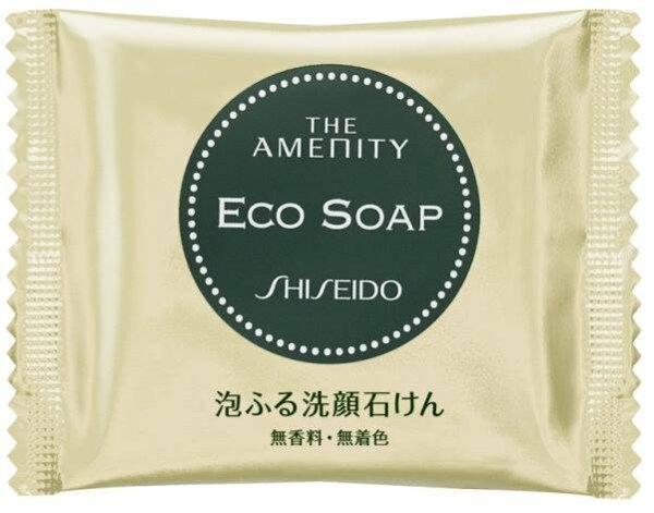 日本限定 SHISEIDO 資生堂泡泡洗顏皂 香皂 卸妝 洗臉 18g *夏日微風*