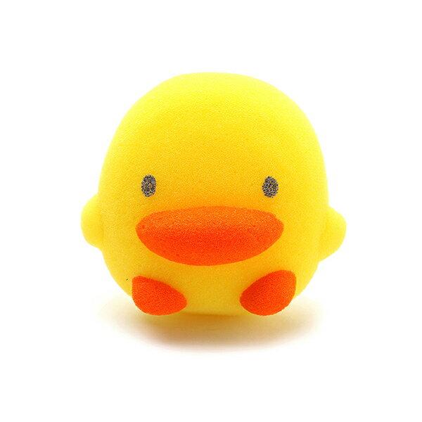 『121婦嬰用品館』黃色小鴨 造型沐浴海綿 0