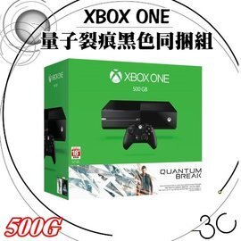 XBOX遊戲主機 《Xbox One 單機版量子裂痕黑色同捆組》 [500G] 這是XBOX ONE【DrK3C】