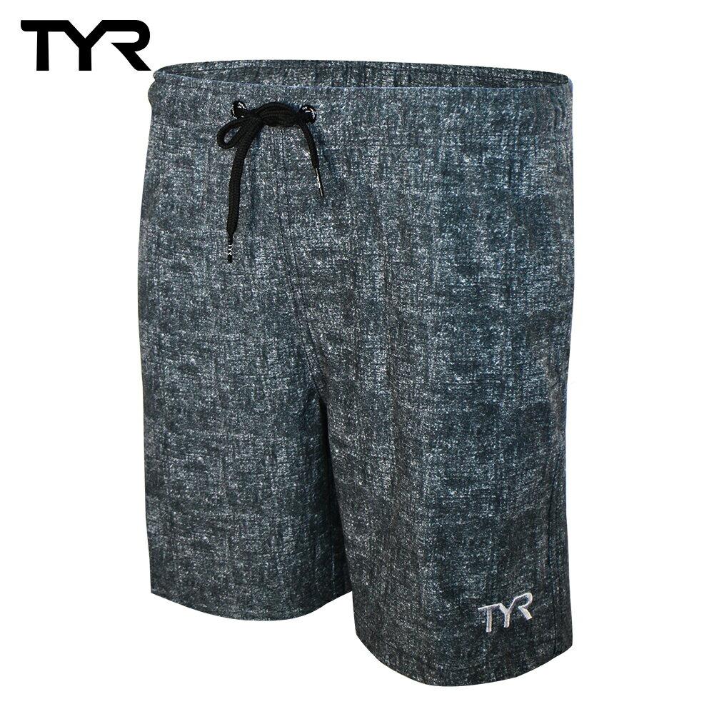 美國TYR 男款透氣慢跑短褲 Marl Shorts 台灣總代理 0