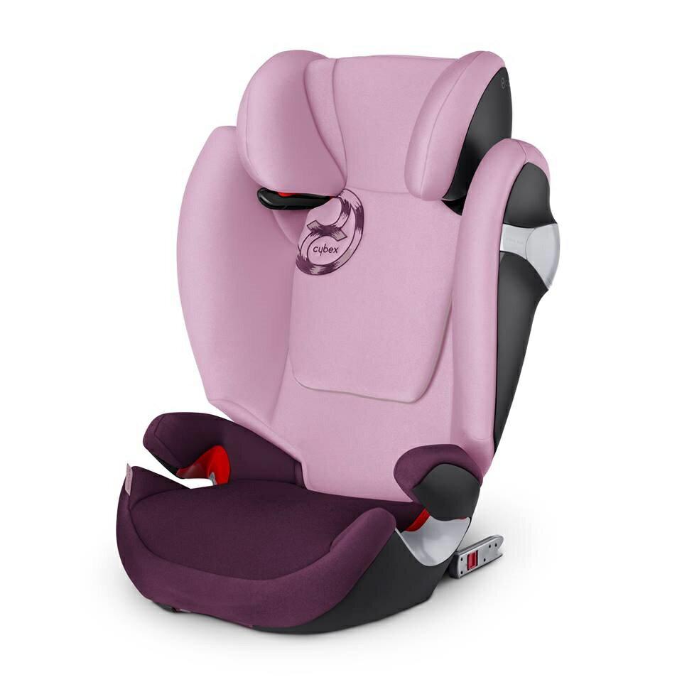 德國【Cybex】Solution M-FIX 汽車安全座椅 (3~12歲) - 公主粉 0