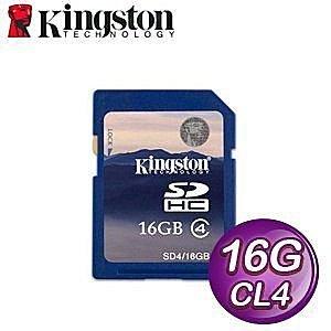 *╯新風尚潮流╭*金士頓記憶卡 16G 16GB SDHC Class4 C4 SD4/16GB