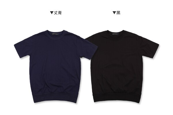 ☆BOY-2☆【NM1052】韓版休閒素面型男短袖T恤 2