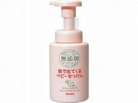 日本MIYOSHI無添加嬰兒泡沫沐浴乳250ml