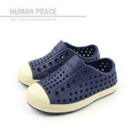 native 輕量懶人鞋、休閒防水鞋到native JEFFERSON 洞洞鞋 藍 中童 no099