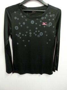【登瑞體育】MIZUNO 女生長袖T恤-32TA57339
