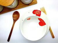 愚人節 KUSO療癒整人玩具周邊商品推薦【This-This】日本 Izawa cheerful heart 愛心餐盤 / 碗