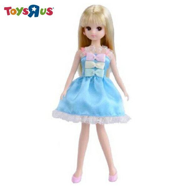 玩具反斗城   Licca莉卡  莉卡娃娃LD06粉藍緞帶