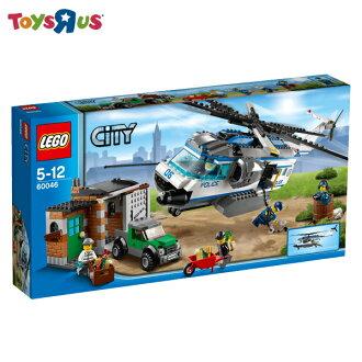 玩具反斗城 樂高 LEGO City監視直升機-60046