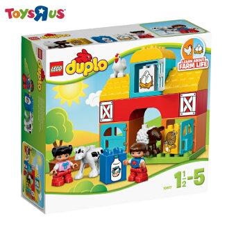 LEGO 得寶 我的第一座農場 玩具反斗城-10617