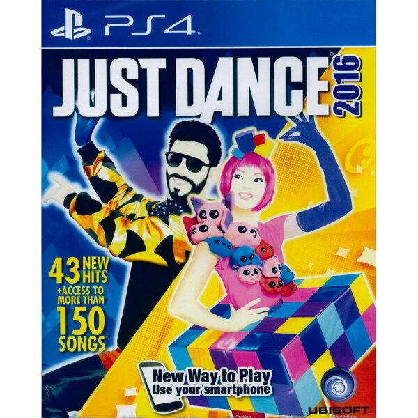PS4 舞力全開 2016 英文亞版 Just Dance 2016(用智慧手機就能玩)