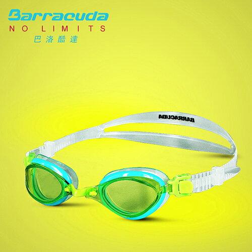美國巴洛酷達Barracuda兒童競技型抗UV防霧泳鏡-FENIX JR#73855 0