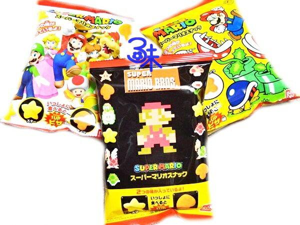 (日本)Tohato 東鳩 超級瑪莉星星&香菇造型米果(披薩味) 1包 36公克 特價 58 元 【4549660883708】( 星星&香菇造型 瑪莉歐 瑪莉兄弟披薩風味餅乾)