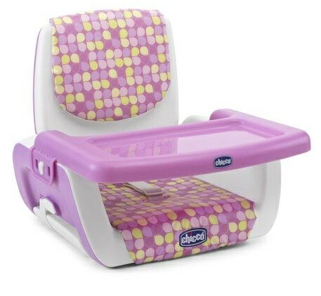 【淘氣寶寶】2016年新款 義大利 Chicco Mode 攜帶式兒童餐椅.兒童餐椅.可調餐桌椅【保證原廠公司貨】【甜心粉】