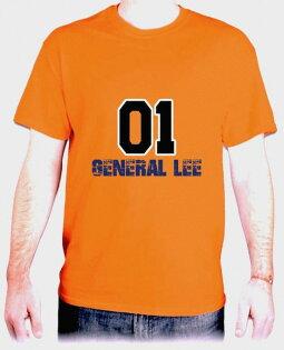 『General Lee』HiCool機能性吸濕排汗圓領T恤