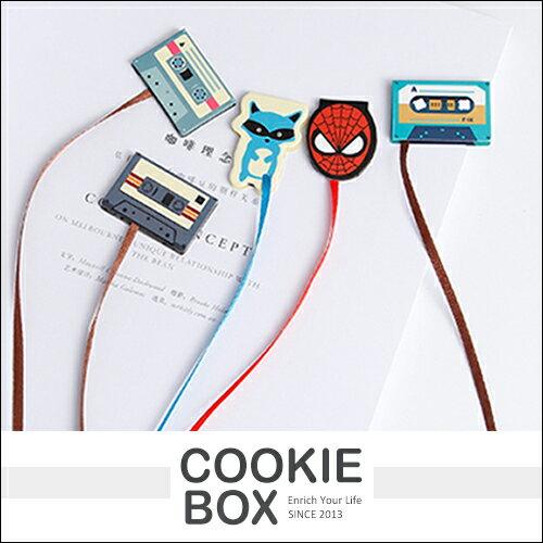 卡通 磁鐵 書籤 造型 動物 蜘蛛人 美國隊長 蝙蝠俠 *餅乾盒子*