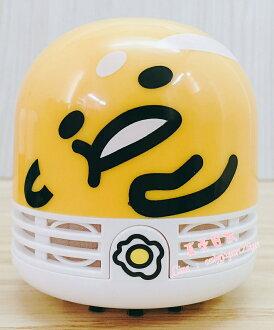 【真愛日本】16082700016桌上吸塵器-GU大臉黃 三麗鷗家族 蛋黃哥 Gudetama吸塵器清潔居家用品