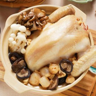 干貝香菇土雞湯