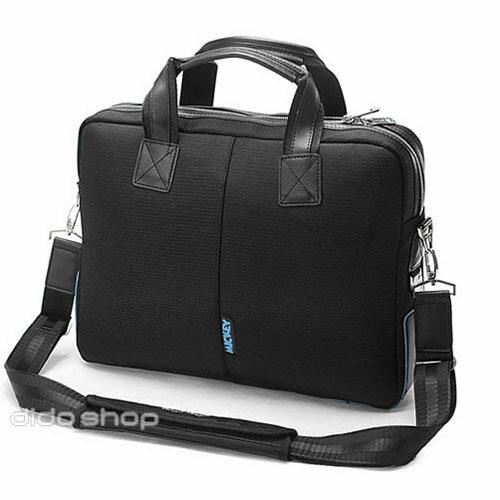 15.4吋 迪士尼 米奇商務質感電腦包 側背包 CL055 黑