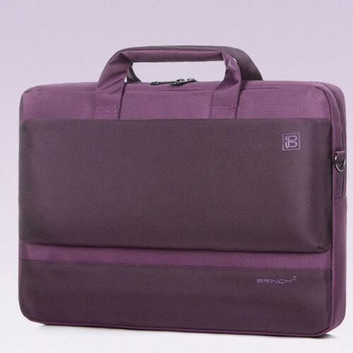 15.6吋 商務質感電腦包 公事包 CN098 紫