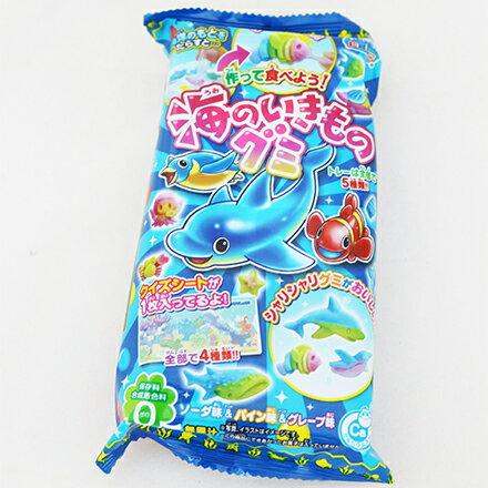 [敵富朗超市]Kracie手作海洋生物造型軟糖 - 限時優惠好康折扣