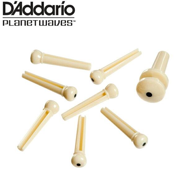 【非凡樂器】D addario 木吉他止弦釘 經濟型(白)【7入止弦釘,背帶釘1入】