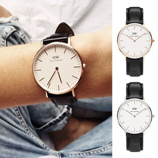【Cadiz】瑞典DW手錶Daniel Wellington 0508DW 玫瑰金0608DW 銀 Sheffield 36mm [代購/ 現貨]