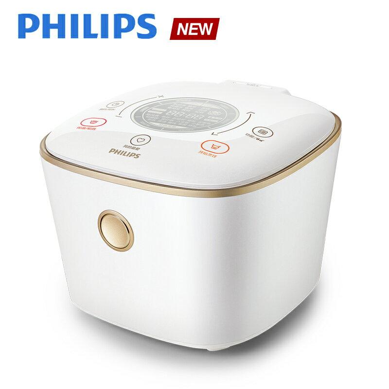 ~飛利浦 PHILIPS~IH電子鍋~石英白^(HD4566^)送佳麗寶保養組