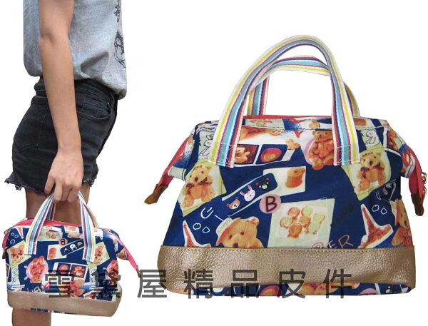 ~雪黛屋~Lian 提袋野餐外帶保溫保冷野餐袋可手提超輕防水尼龍布內鋁箔保溫冷大開口便於置物容量簡易袋#9138
