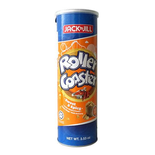 【JACK'n JILL 】馬鈴薯圈 (甜辣醬味) 100g / 罐