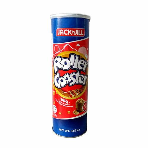 【JACK'n JILL 】馬鈴薯圈 (BBQ味) 100g / 罐