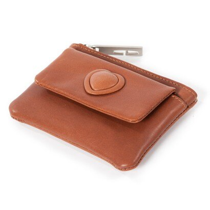Golunski Georgia Mini Coin Purse with Key Fob (cognac) 0