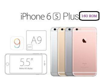 APPLE iPhone6S Plus 16G 銀/金/太空灰/玫瑰金 四色