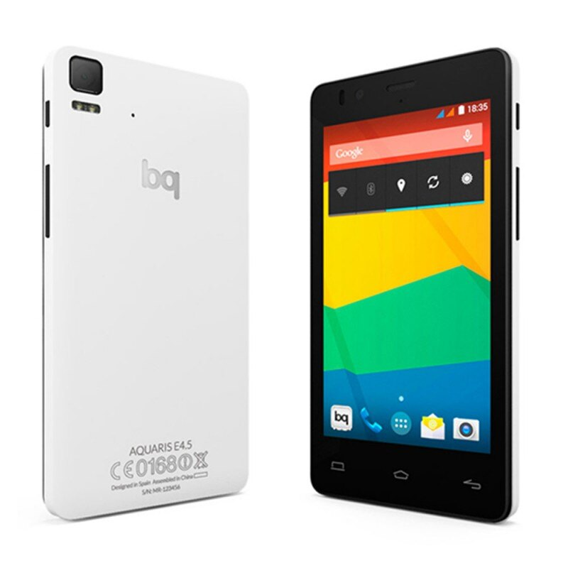 BQ AQUARIS E4 8GB BLANCO. TELEFONO LIBRE (OUTLET) 2