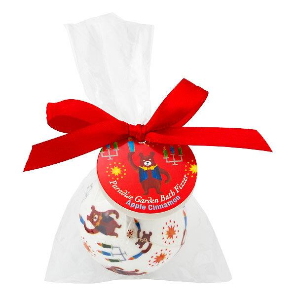 CHARLEY 天堂花園發泡入浴錠-蘋果肉桂香 80g