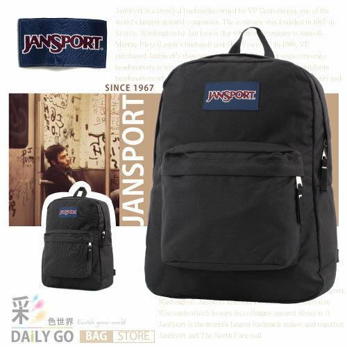 JANSPORT 後背包-黑色 JS-43501-008