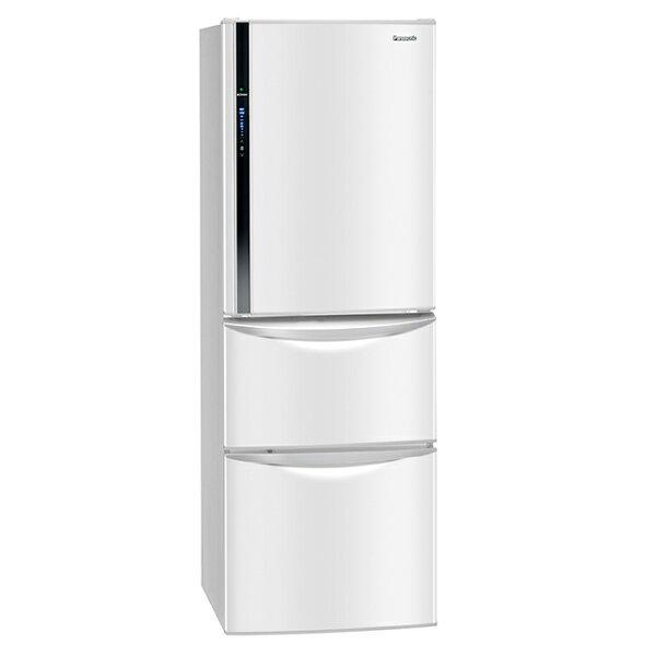 【國際牌Panasonic】ECONAVI 385L三門變頻電冰箱。瑭瓷白/(NR-C387HV/NR-C387HV-W)
