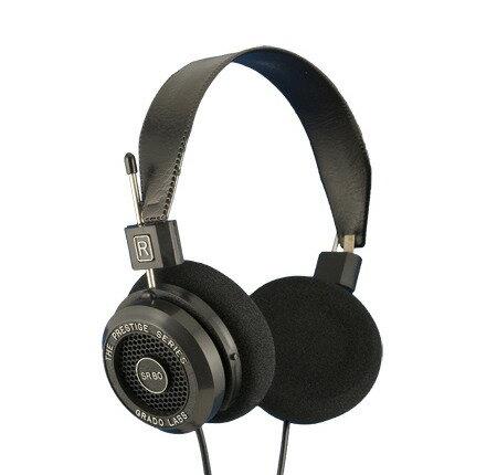 志達電子 SR80e Grado Prestige SR-80e 開放式耳罩耳機 公司貨 保固一年 門市開放試聽服務