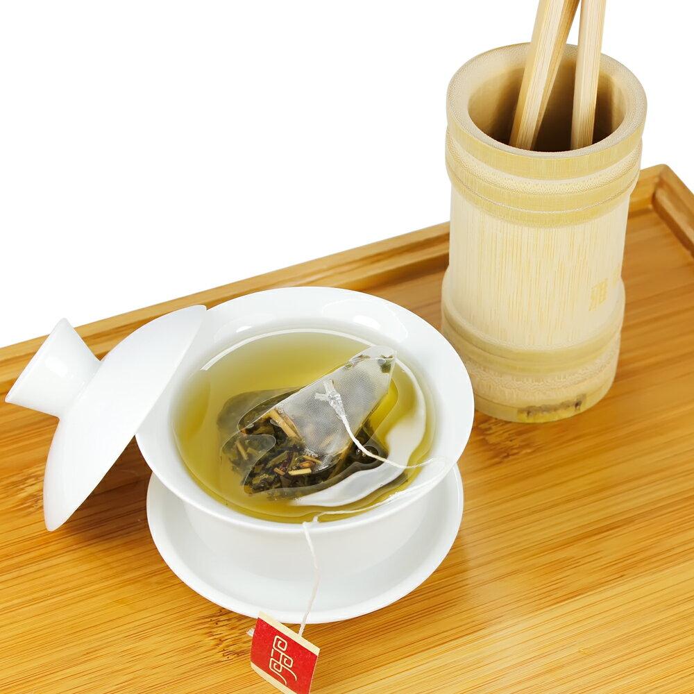 【杜爾德洋行 Dodd Tea】茉莉香綠茶立體茶包15入 2