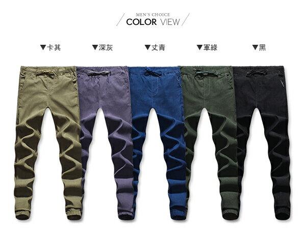 ☆BOY-2☆【KK4012】美式潮流束口牛仔休閒工作褲 1